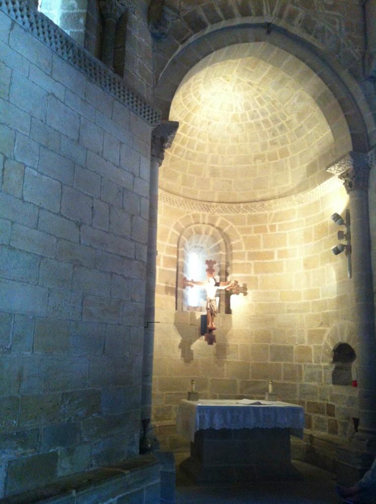 13th century crucifix of Santo Sepulchro, 12th century, Torres del Rio
