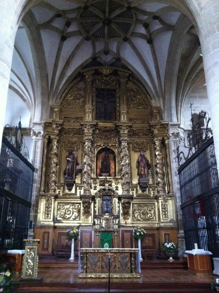 Altarpiece of the Church of Santa Maria, 16th century, Belarado