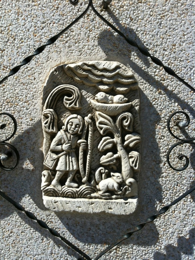 Garden wall detail, Villafranca Montes de Oca