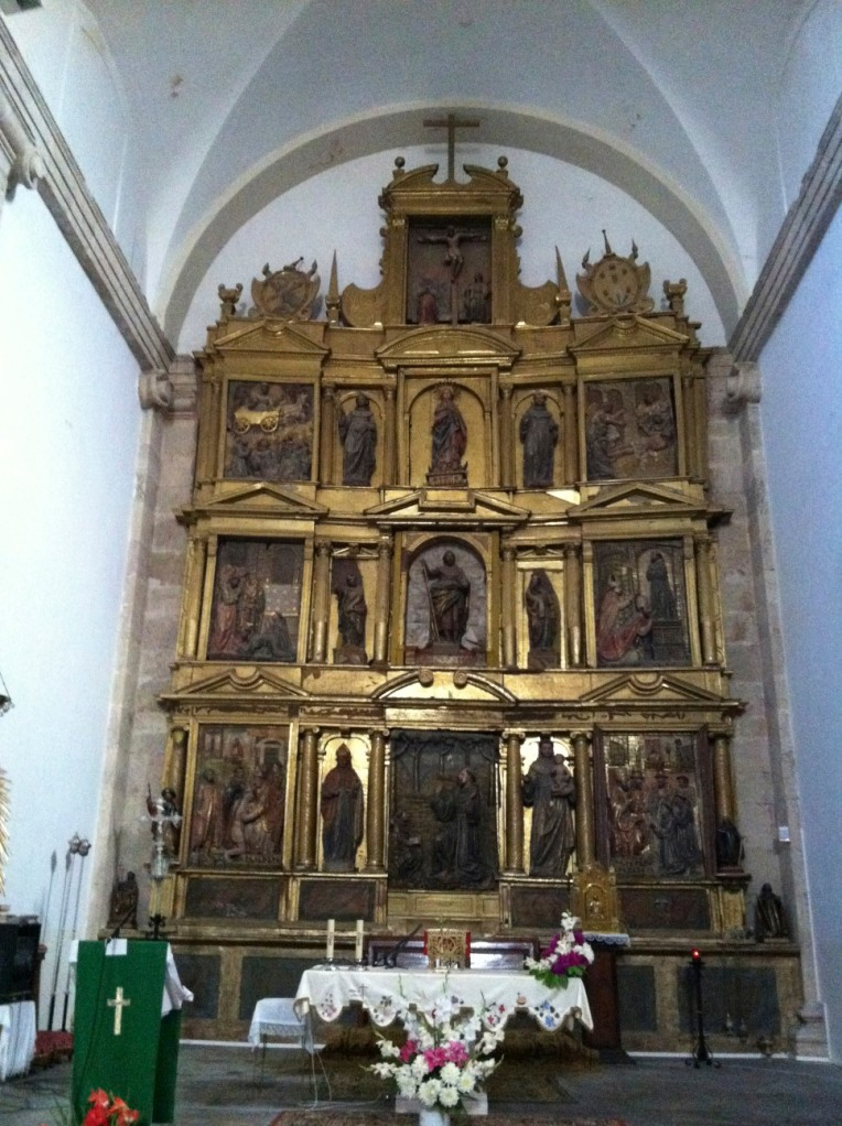 Altarpiece, Church of Santiago, Villafranca Montes de Oca