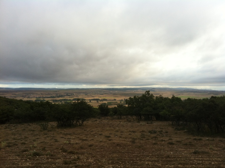 View of the valley from Sierra Atapuerca
