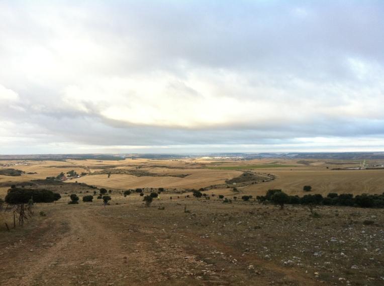 Trail leading into Orbaneja