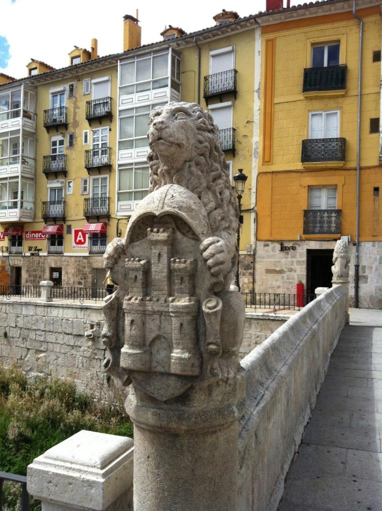 Bridge finial in Burgos