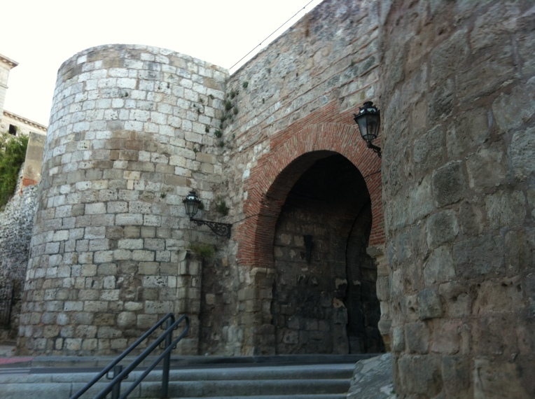 Arco de San Martin, what remains of the fortified wall of Burgos