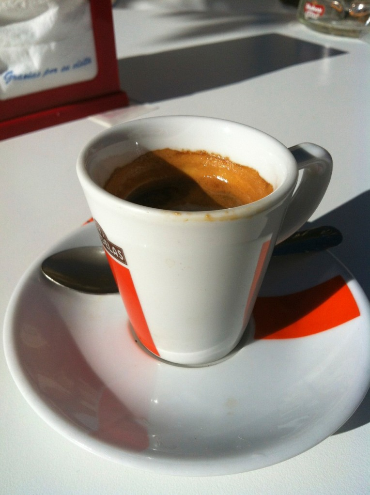 An afternoon espresso in Ages