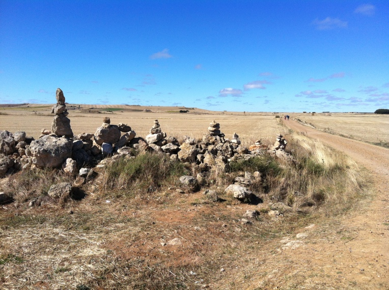 Piedras Santos, sacred stones, of the Meseta