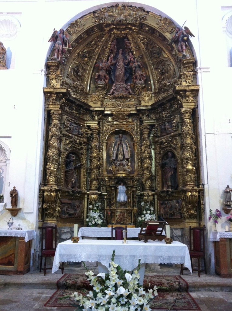 Altar of the Church of the Conception, 14th century, Hontanas