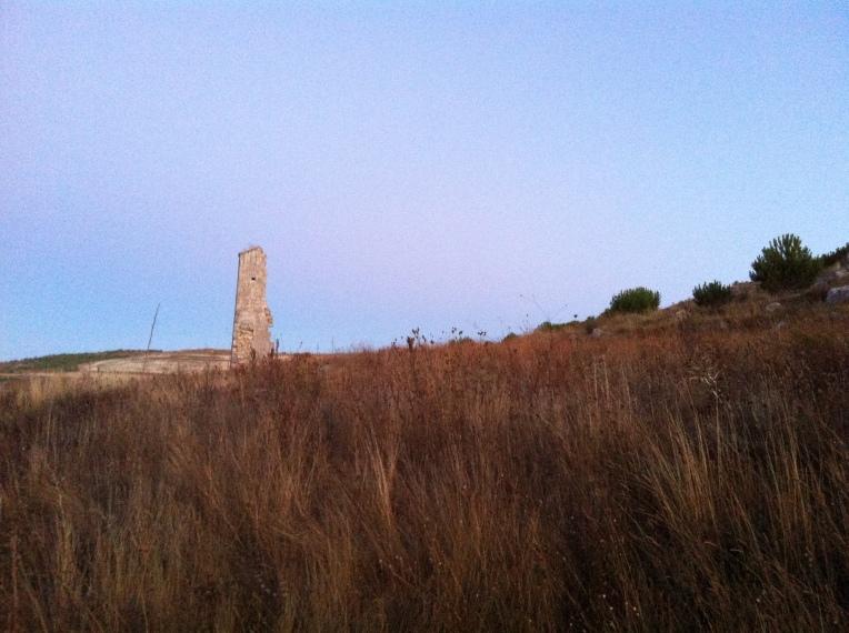 Hillside ruins of San Miguel