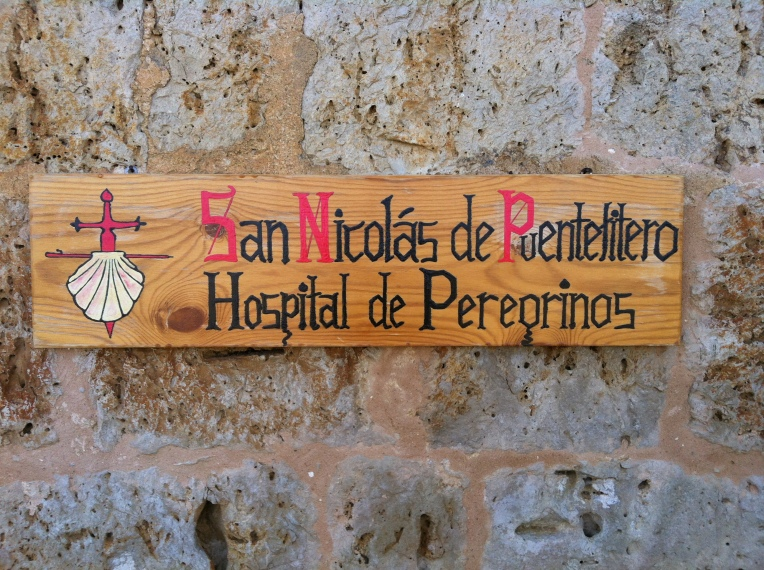 Signboard for San Nicolás