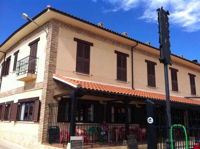 Our albergue in Itero de la Vega, the Postal Fitero