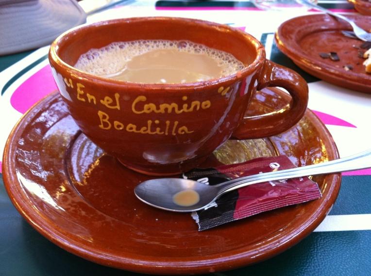 Mid-morning café-con-leche