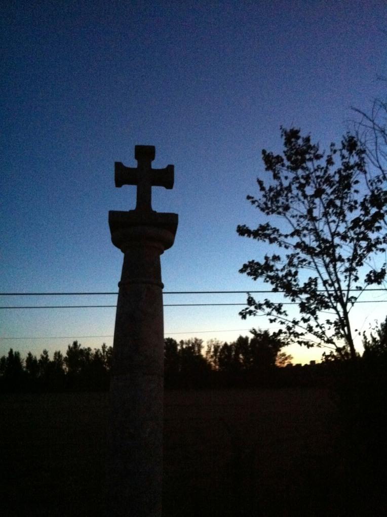 Sunrise near Itero de la Vega