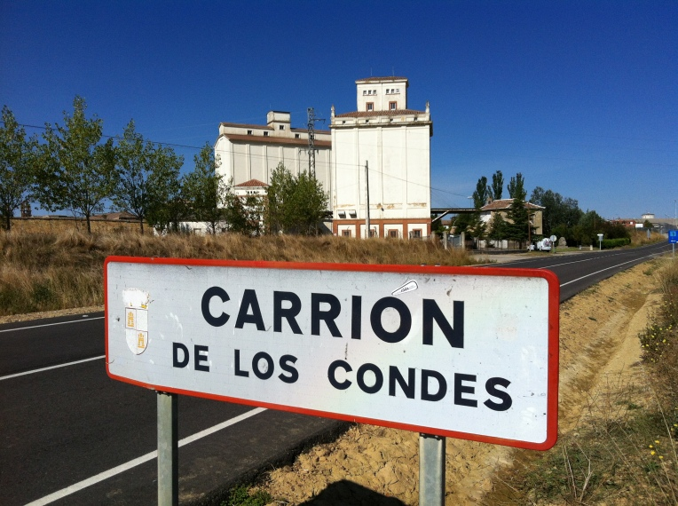 Entering Carrion de los Condes