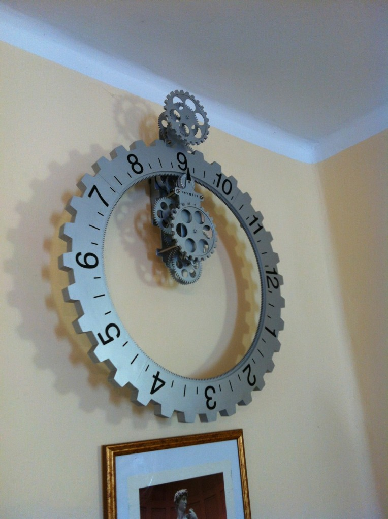 Interesting clock in Moratinos