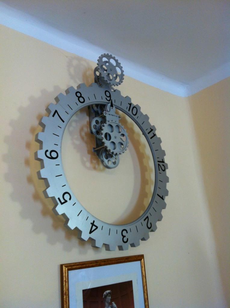 Interesting clock in Moratinos