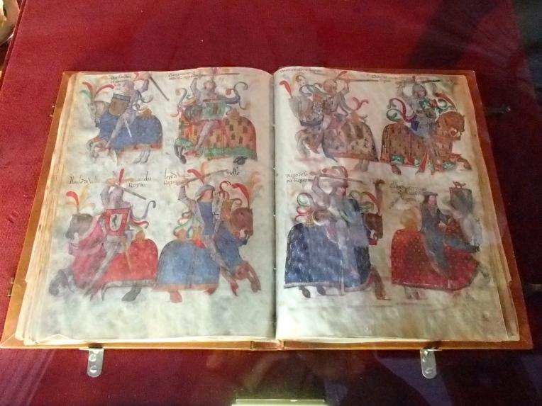 Illuminated manuscript, Burgos Cathedral Museum