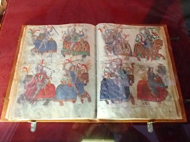 Illuminated manuscript, Burgos Cathedral Museum