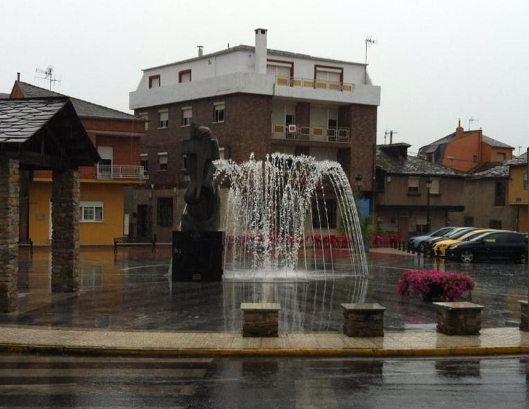 Fountain in Ponferrada