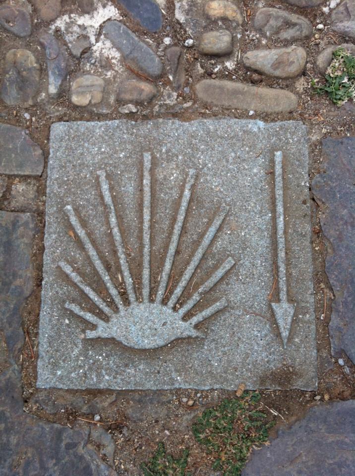 Camino marker, Cacabelos