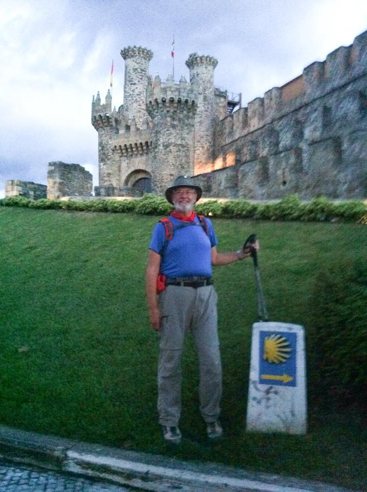 Alan at Castillo de los Templarios (Templar castle), Ponferrada