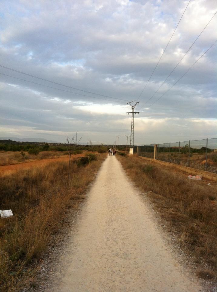 Trail near Puente de Pañote