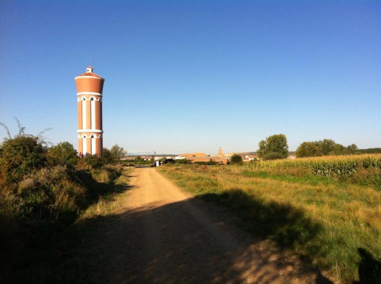 Grain silo, San Martín del Camino