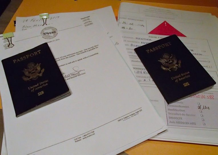 Applications and supporting documents