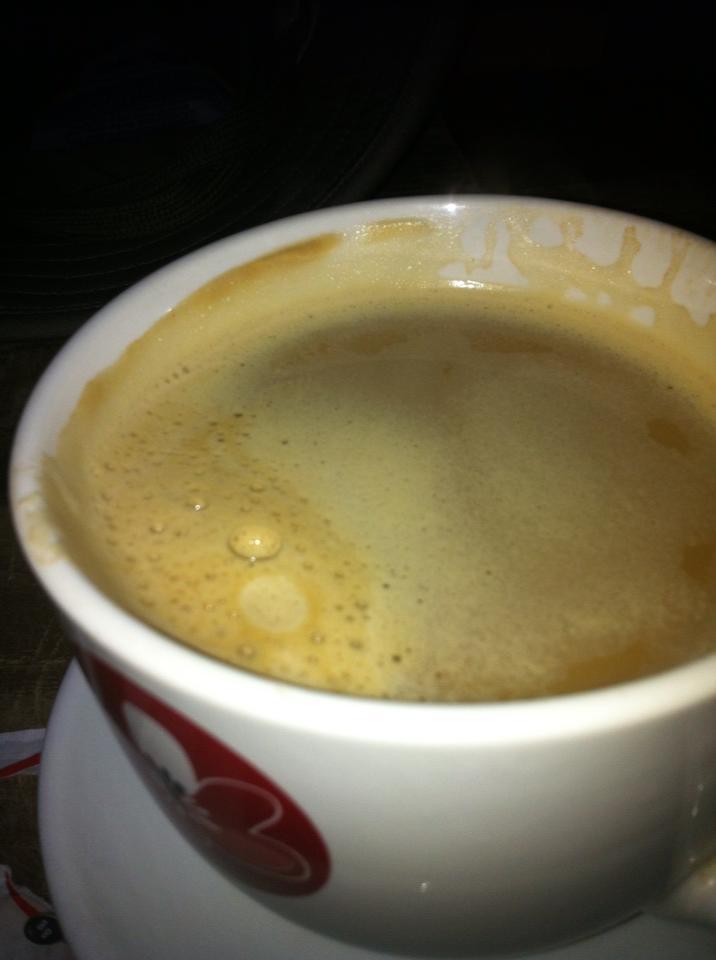 Café grande – yummy! – San Martín del Camino
