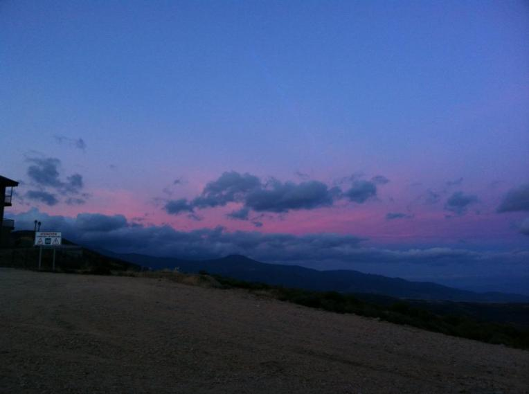 Sunrise at El Acebo