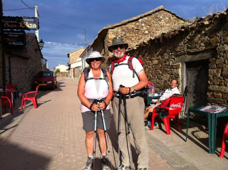 Alan and Tracy in Santa Catalina de Somoza
