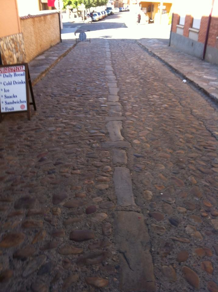 Cobbled streets of Hospital de Orbigo