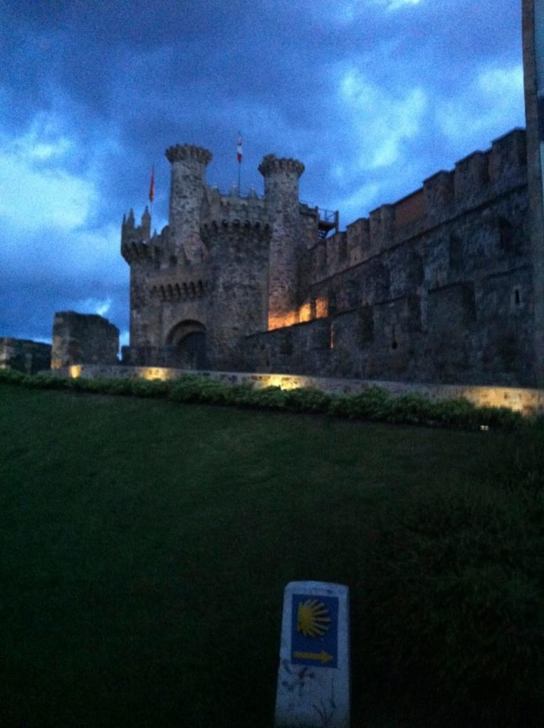 Castillo de los Templarios (Templar castle), Ponferrada