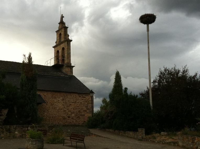 Ermita San Blas, Columbrianos