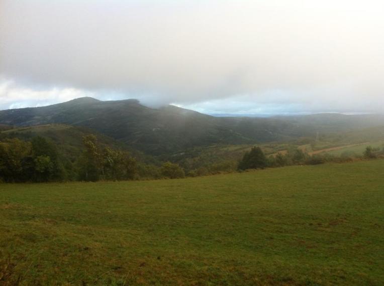 Vista near Triacastela