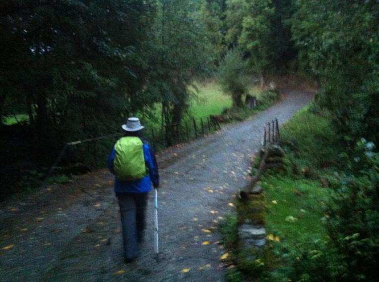 Trail outside Mondaveiga