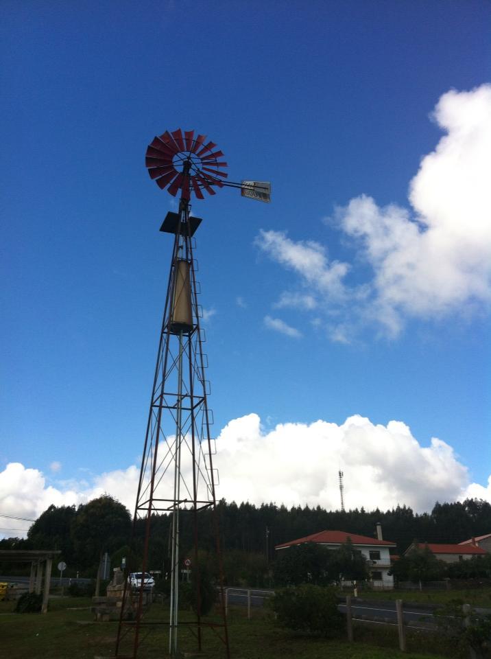 Windmill near A Calle