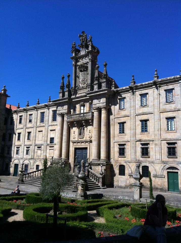 Praza da Immaculada, Santiago