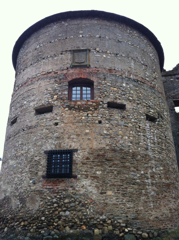 One of the interesting turrets of the 15th century castle in Villafranca del Bierzo