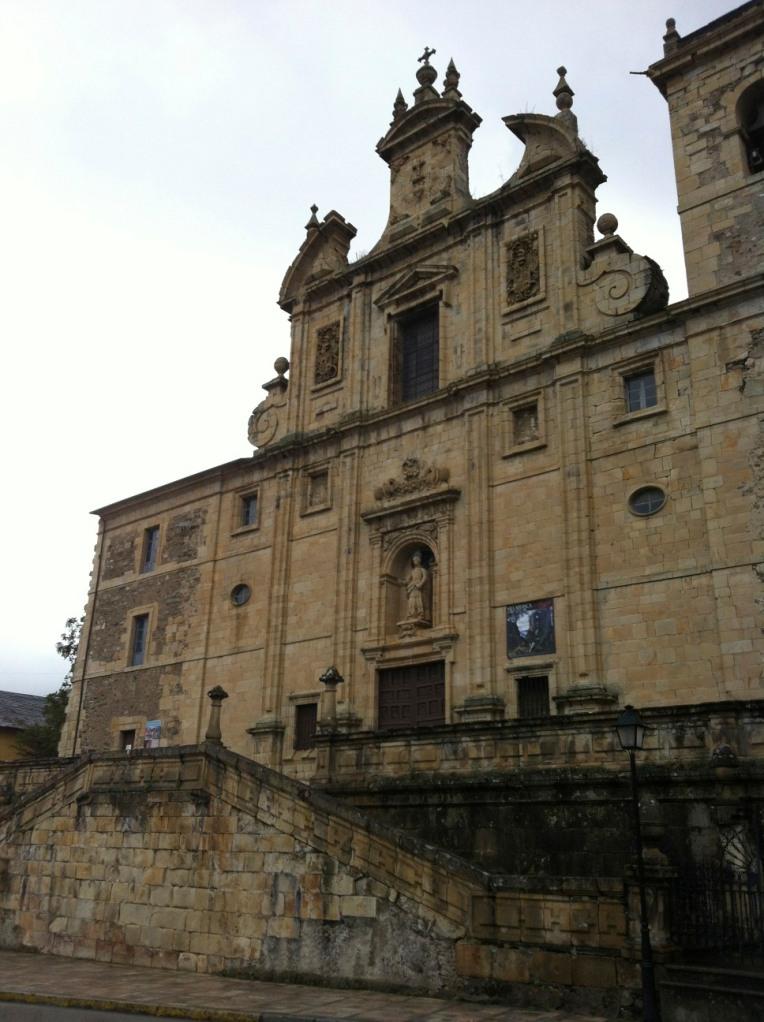 Façade of Iglesia San Nicolas, 17th century, Villafranca del Bierzo