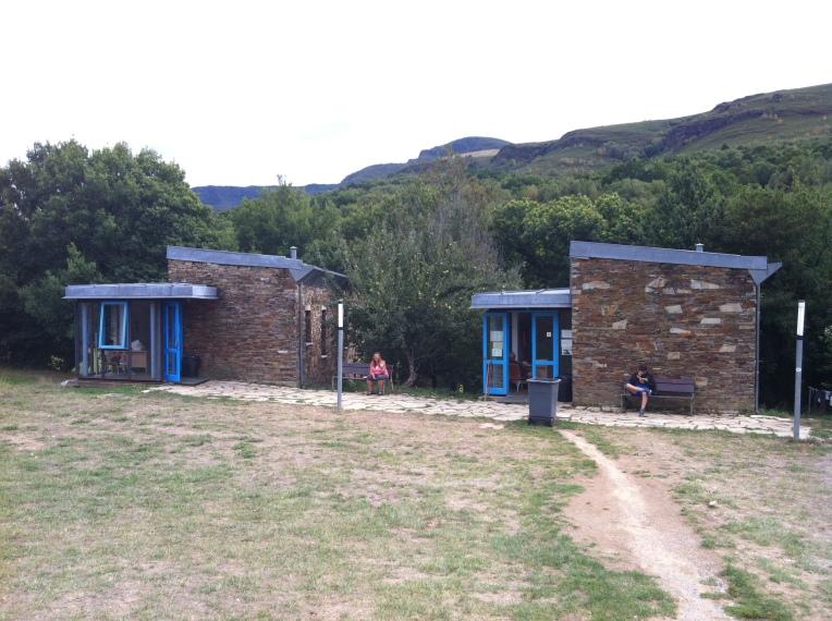 Our albergue in Triacastela