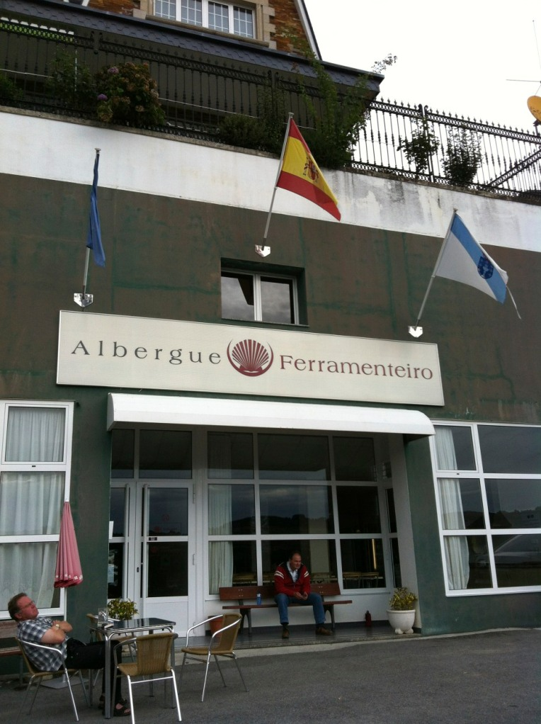 Our albergue in Portomarin