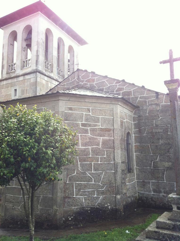 Church in Triacastela