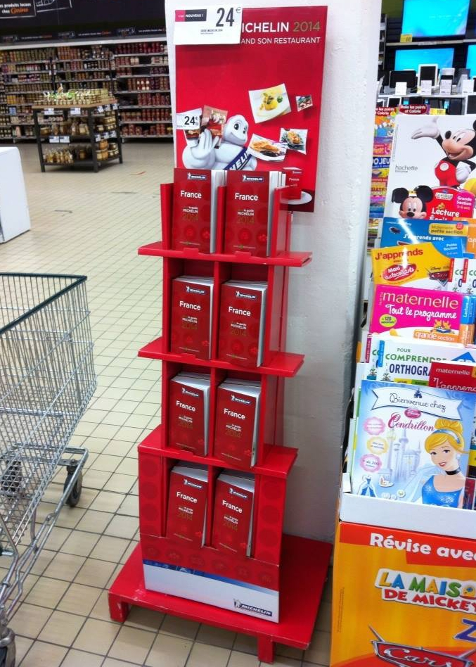 Michelin Guide Display