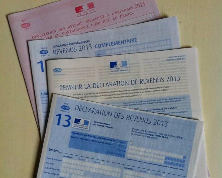 Declaration Des Revenus Forms And Directions