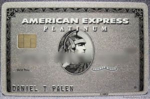 """American Express smart card""  by Source (WP:NFCC#4). Licensed under Fair use via Wikipedia - http://en.wikipedia.org/wiki/File:American_Express_EMV_card.jpg#mediaviewer/File:American_Express_EMV_card.jpg"
