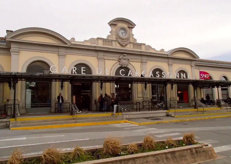 Gare de Carcassonne (Train Station).