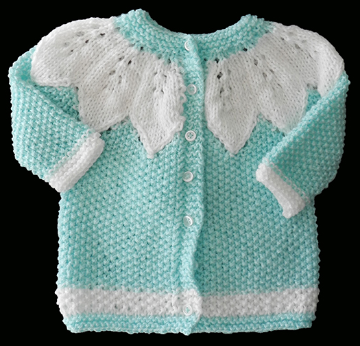 Knitting With Two Colors At The Same Time : Knitting a few baby gifts an italian point of view