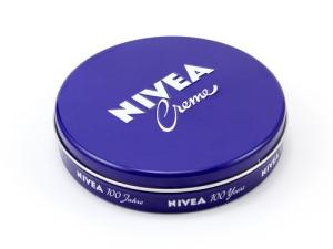 Nivea Creme in flat tin