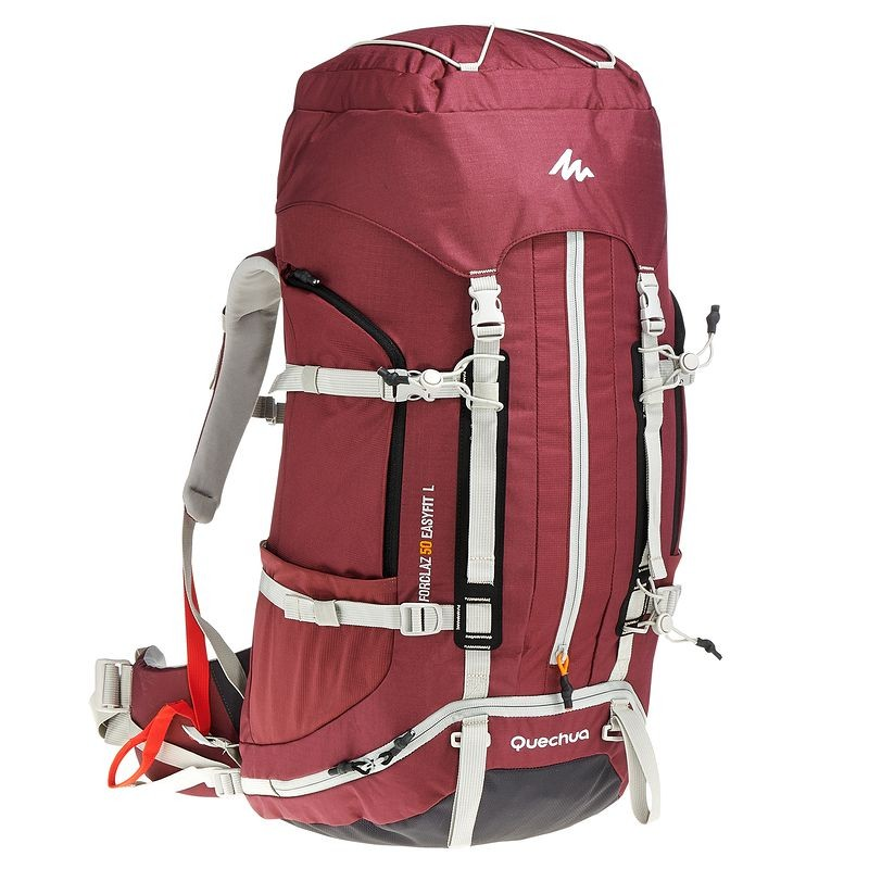 acdb41da1 Quechua Forclaz EasyFit 50 Women s Hiking Backpack (from catalog)