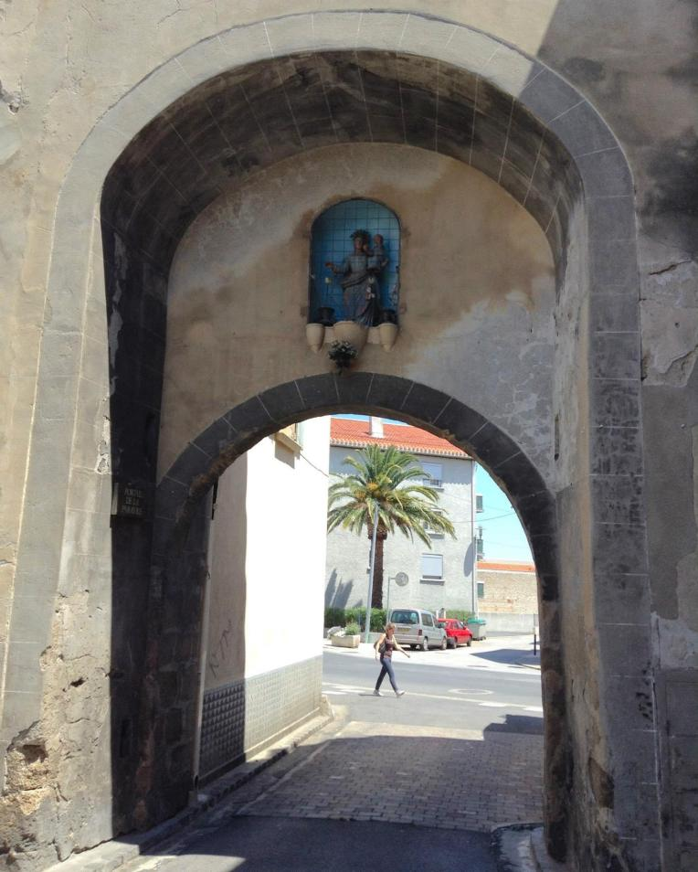 The xxx Gate which allowed entrance into the city near the Hospice from inside the ramparts.